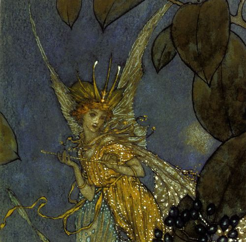 Edmund Dulac, Fairy Tales and Nursery Rhymes (detail)