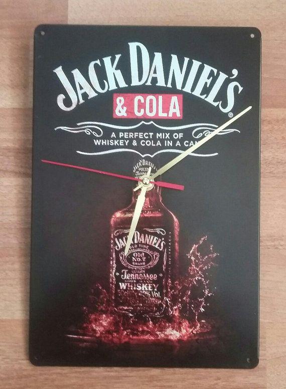 Wall Clock Jack Daniels&Cola /Creative Retro от studioclock
