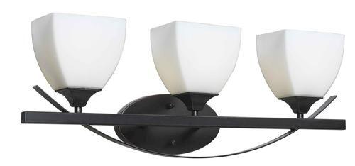 Kichler Barrington 3 Light 22 In Cylinder Vanity Light At: $64 Menards Archer 3 Light Vanity