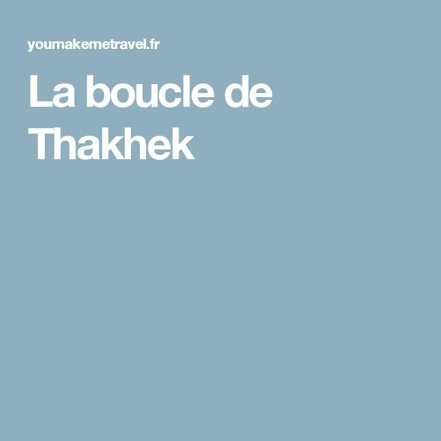La boucle de Thakhek