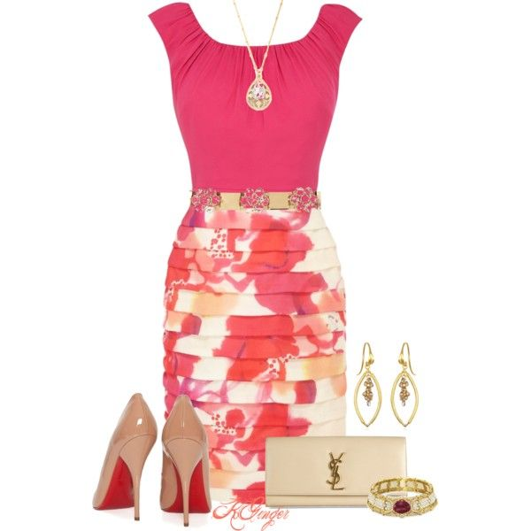 Afternoon Wedding Guest By Kginger On Polyvore Spring Outfitsspring