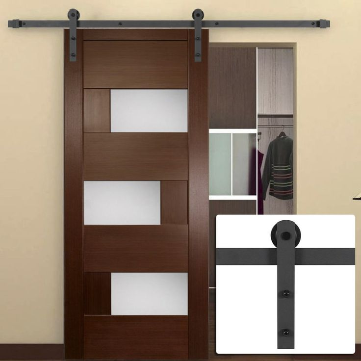 17 best ideas about barn door rollers on pinterest for Track doors interior