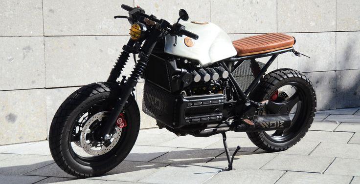 Cafe Racer Su Base Bmw Idea Di Immagine Del Motociclo