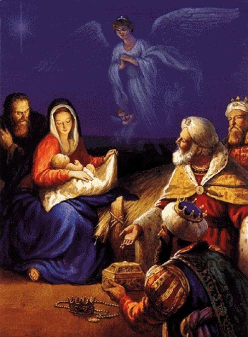 Levantar nuestras manos para dar también gloria  y dejad que la paz penetre en nuestra alma como la gran nevada de la misericordia. Dejar que, dos mil años depuse,  el Niño vuelva a nacer en nosotros, convertir nuestras almas en el portal viviente. Y sea nuestra casa como un nuevo Belén.