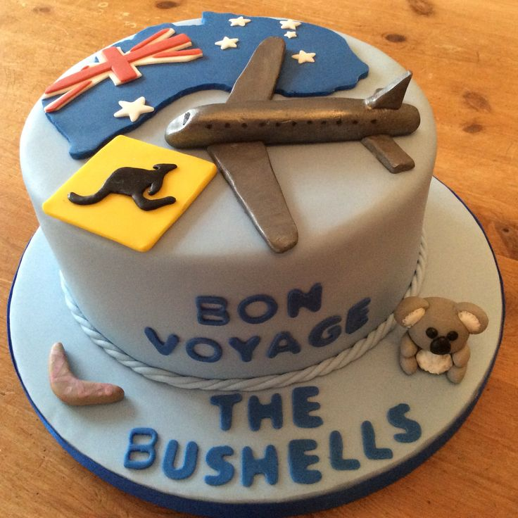 Cake Decorating Ideas Bon Voyage : 23 best Bon Voyage Cake Ideas images on Pinterest Cake ...