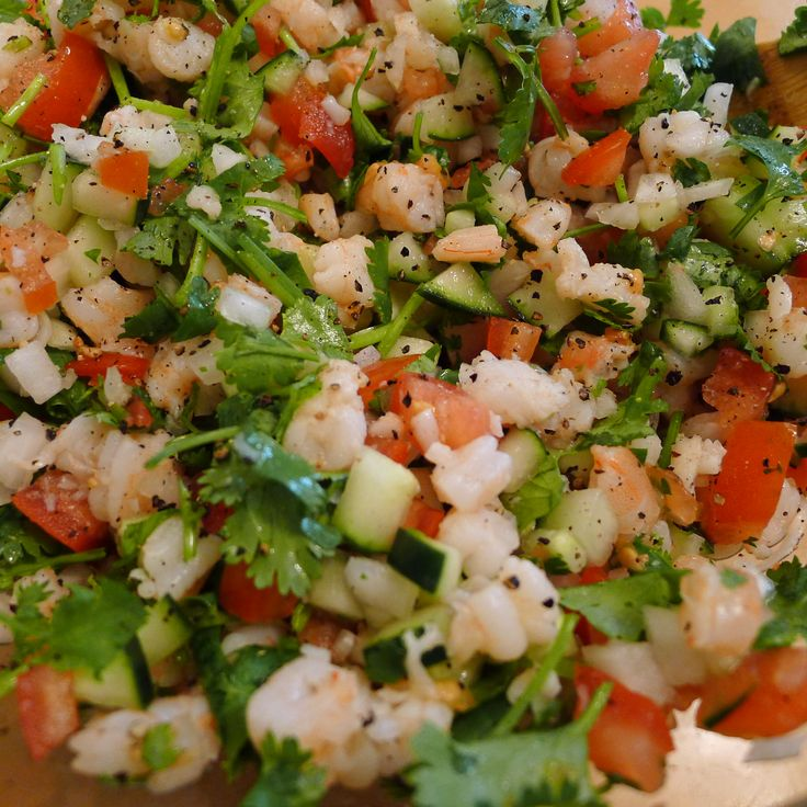 Shrimp ceviche recipe please like share repin thanks for Shrimp and fish ceviche