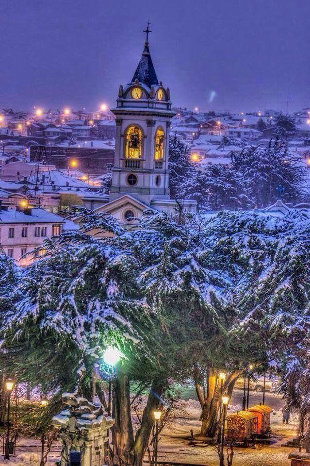 Punta Arenas La ciudad en la nieve