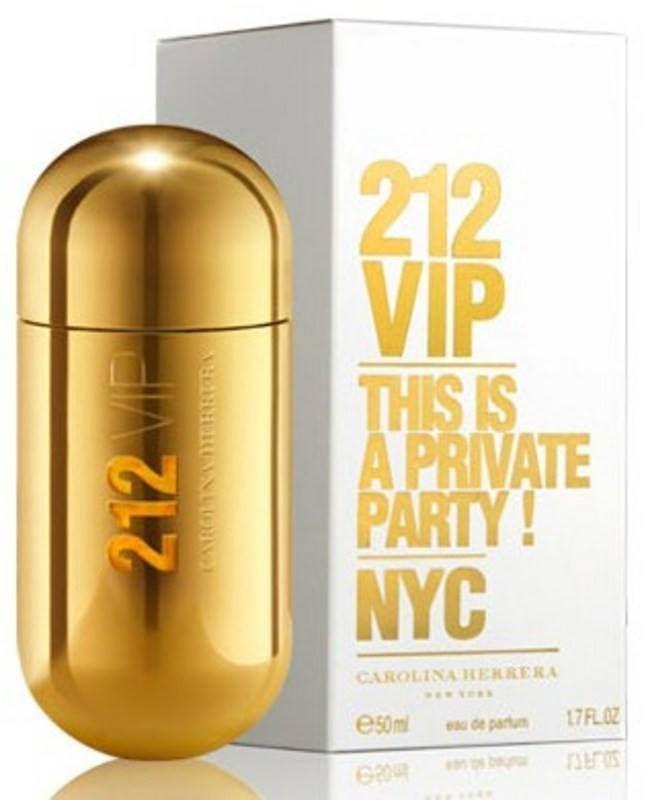 CAROLINA HERRERA 212 VIP WOMEN`S EAU DE PARFUM SPRAY 1.7 OZ