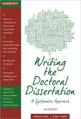 write dissertations books