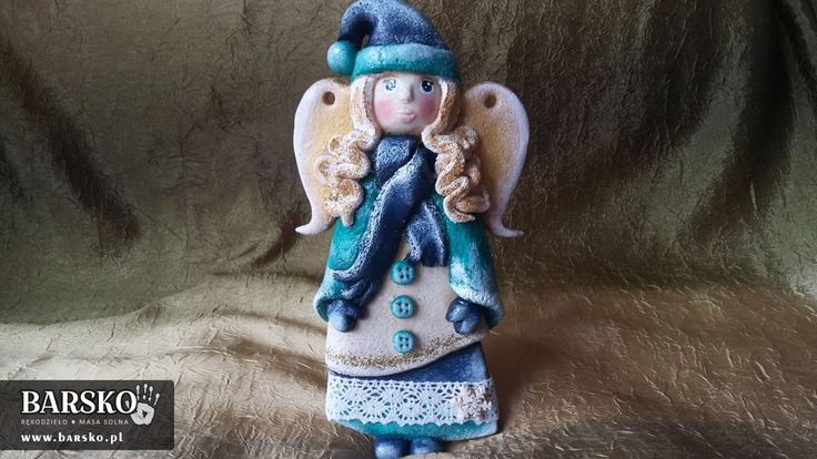 Salt Dough Winter Angels