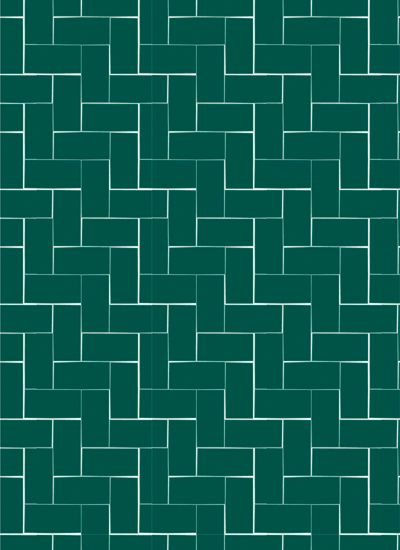 Dark blue/green bricks wrapping paper from Ompak