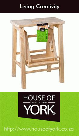 Is your dad a handyman around the house? We have a useful step stool at House of York that's perfect for those hard-to-reach places! #stepstool #DIY #houseofyork