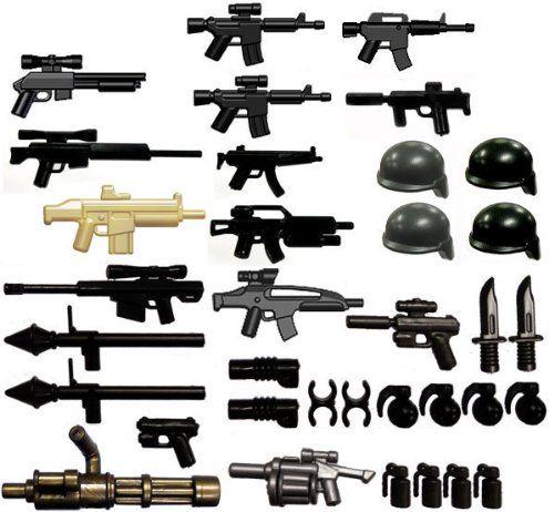 """BrickArms 2.5"""" Scale Modern Assault Pack"""