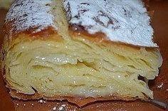 Это египетская сладость, то ли пирог, то ли пирожное, но скажу одно - это безумно вкусно! Ингредиенты: Молоко 3 ст. Дрожжи сухие быстродействующие 0,5 ч.л. Яйцо куриное 2 шт. Мука пшеничная 3 ст. …