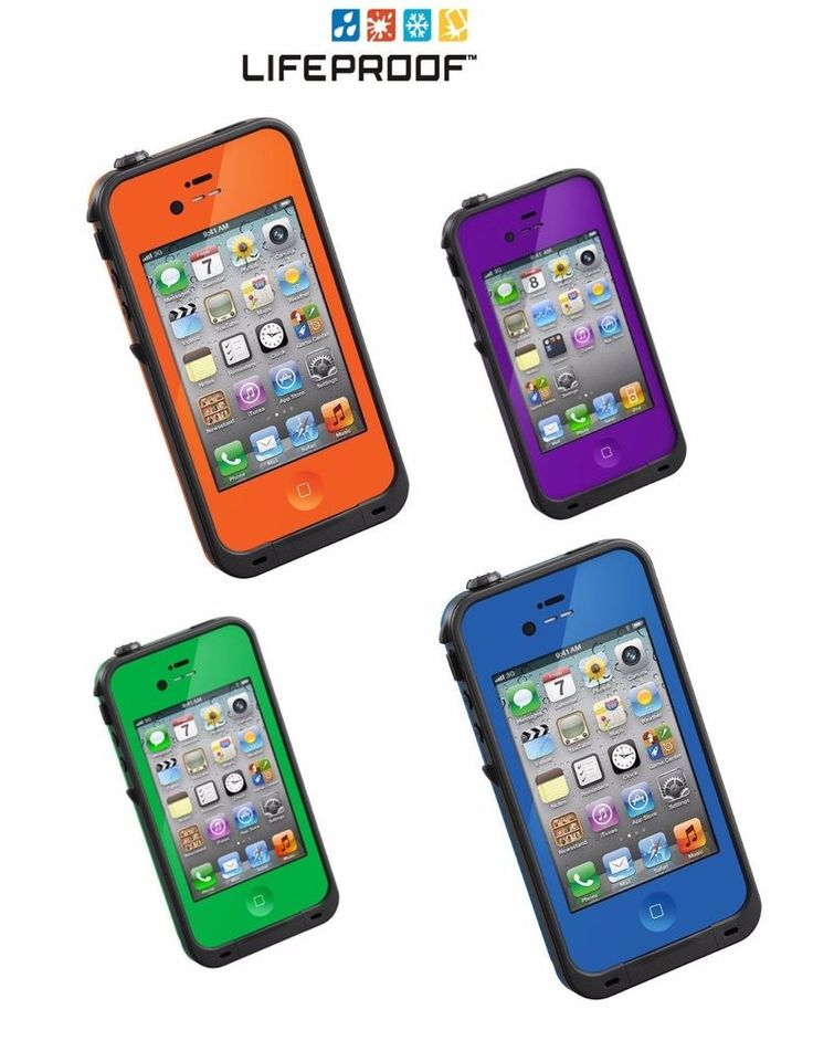 Lifeproof FRE Waterproof Case for iPhone 4S 4 with Authentic Serial Brand NEW #Lifeproof