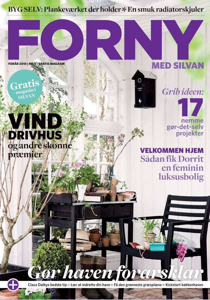 FORNY med Silvan, magasin nummer 1, forår 2010