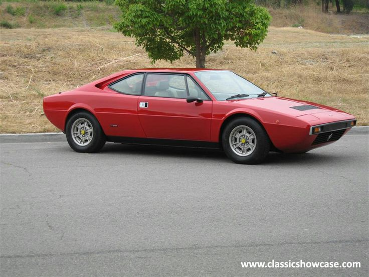 1977 Ferrari 208 GT4 by Classic Showcase. Smallest displacement V8 ever made. Don't care - it's a Dino!