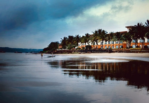 Goa Marriott Resort And Spa provides direct access to a scenic beach! Rooms start at $119 per night.