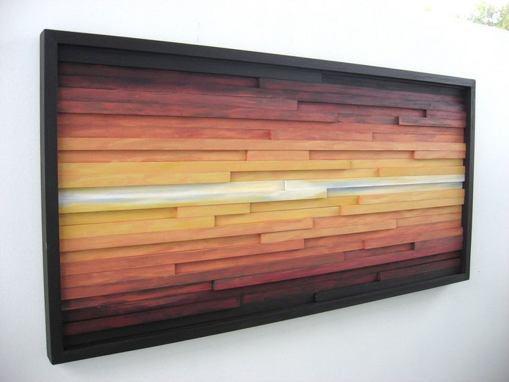 Abstract Landscape Painting on Wood, Wood Wall Art, Wood Sculpture Wall Art by ModernRusticArt on Etsy https://www.etsy.com/listing/203293748/abstract-landscape-painting-on-wood-wood