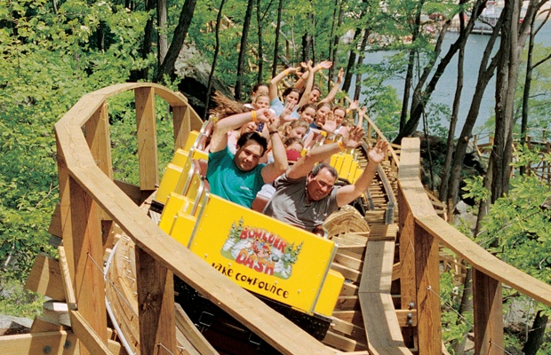 Theme Park: Lake Compounce  Location: Bristol, Connecticut  Height: 35 Ft  Top Speed: 60 mph