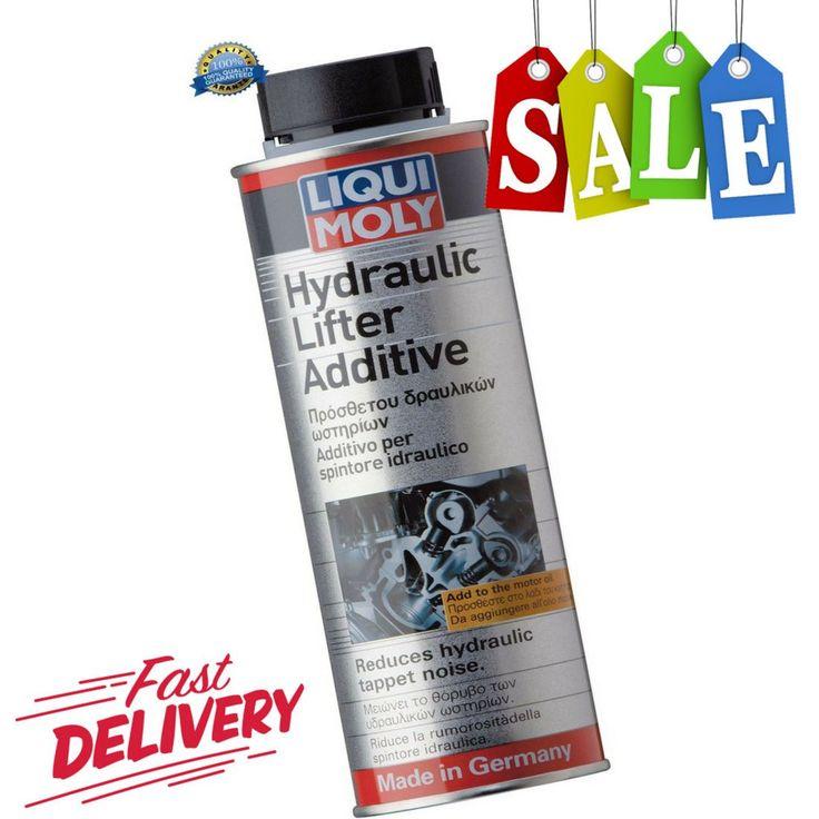 liqui moly hydraulic lifter additive instructions