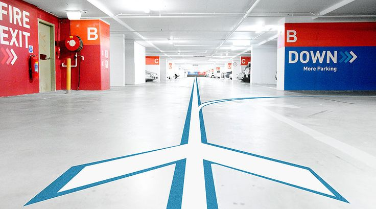 Car park wayfinding brandculture communications for Garage voiture orly