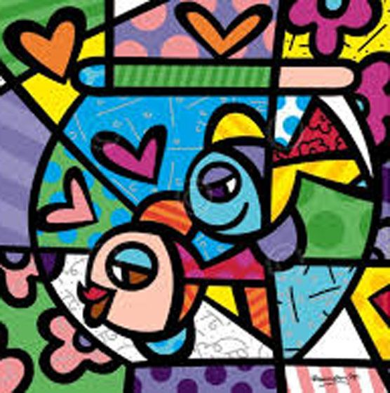 Fishbowl  by Romero Britto