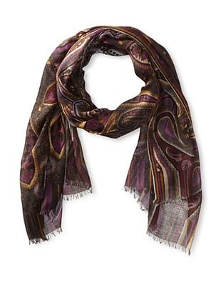 75% OFF Yul Taylor Women's Uptown Girl Scarf, Charcoal