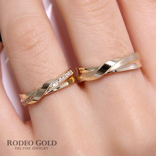 Gold engagement rings TCR47813