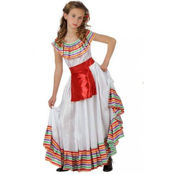#Disfraz barato mejicana para tu #fiesta del colegio #tienda #online golosinas y disfraces #sevilla www.martinfloressl.es