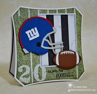 Jeanne's Paper Crafts :: Football and Football Helmet cutting files
