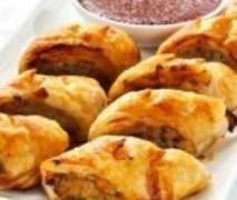 Chicken and Veg Sausage Rolls