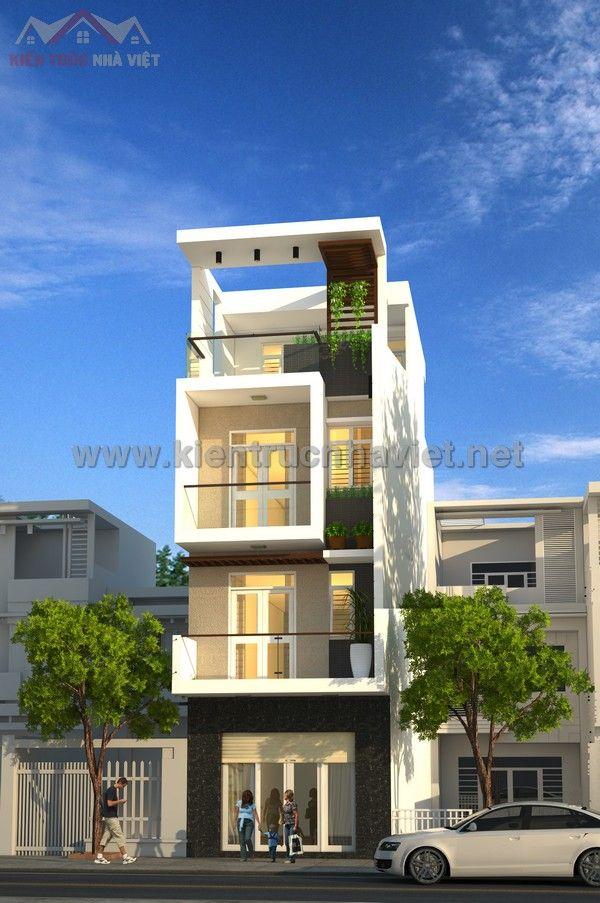 Mẫu thiết kế nhà ống 5x20m đẹp - Công Ty Thiết Kế Xây Dựng Nhà Ống Đẹp - Nhà Phố Đẹp - http://www.kientrucnhaviet.net