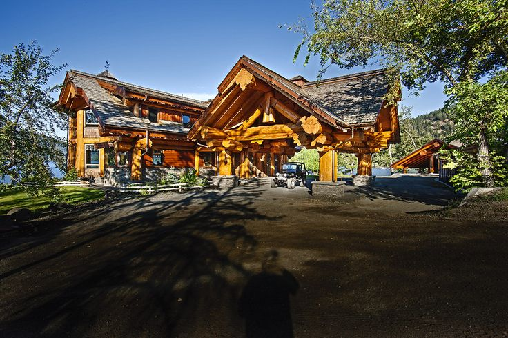 signal point home pioneer log homes of bc loghome customloghome luxuryloghome log post. Black Bedroom Furniture Sets. Home Design Ideas