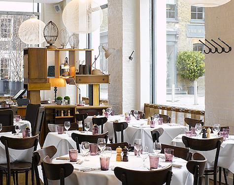 Restaurant Visit: Bistrot Bruno Loubet in Clerkenwell : Remodelista