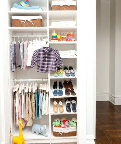 The Adjustable Shelving Here Allows Closet To Mature With Your Child Learn More