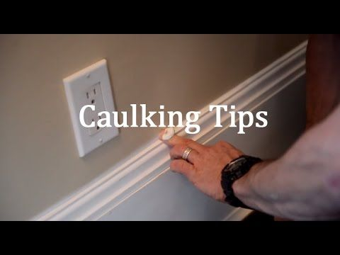 Mark and Theresa of MyFixitUpLife teach us a thing or two about caulking. #caulkingtips #DIY #homeimprovementtips