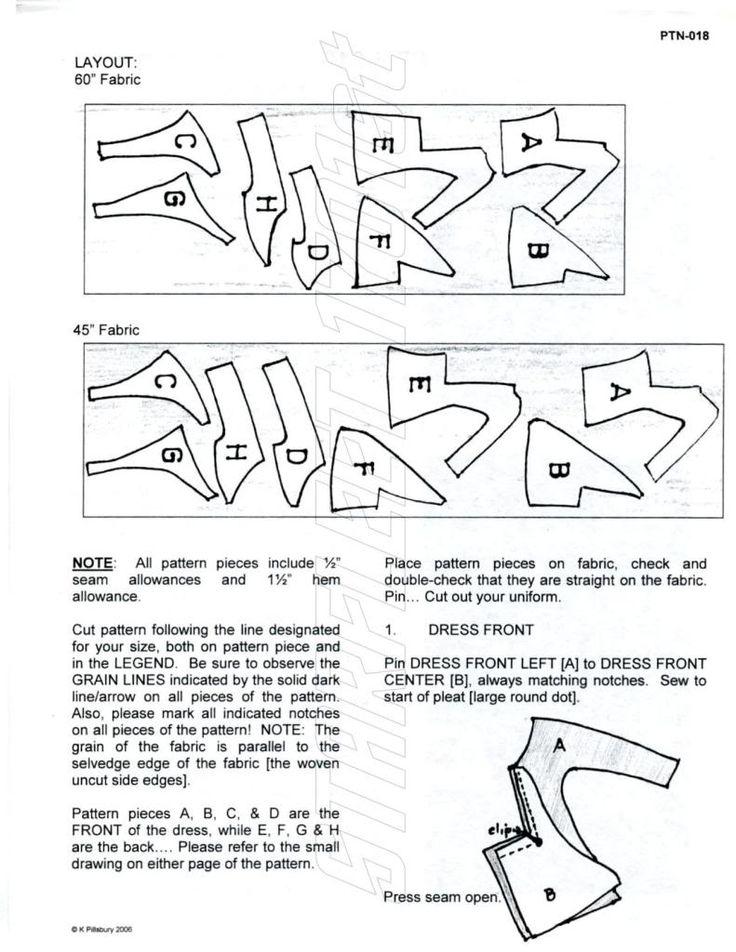 Star Trek Dress uniform pattern - detail shots, alternatives, and assembly hints