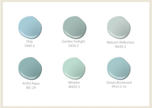 17 best ideas about coastal colors on pinterest coastal for Coastal blue paint colors