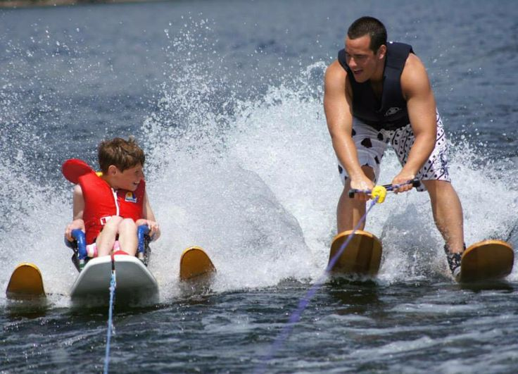 Water skiing at Mont Tremblant is just some of the many watersports available on Tremblant lake.  Create memories of a lifetime in our exquisitely decorated, fully equipped resort home. Check Availability Now for Mont Tremblant Holiday Condo http://tremblantholiday.com/airbnb
