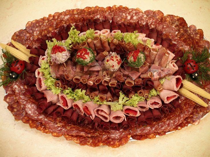 Platou Adorator de carne a lui' nea Sigmund