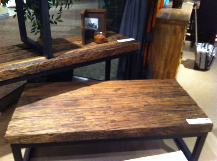 Railroad ties furniture bali style furniture pinterest for Cool coffee tables built out of railroad ties