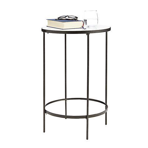 Buy John Lewis Sorrento Marble Top Side Table Online at johnlewis.com