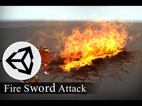 Effect Animation - Fire Sword Attack - Effect Animation Tutorials - YouTube