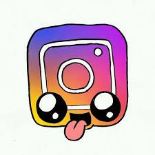 Resultado de imagen para dibujos kawaii para dibujar faciles youtube instagram