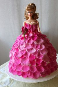 barbie cakes design