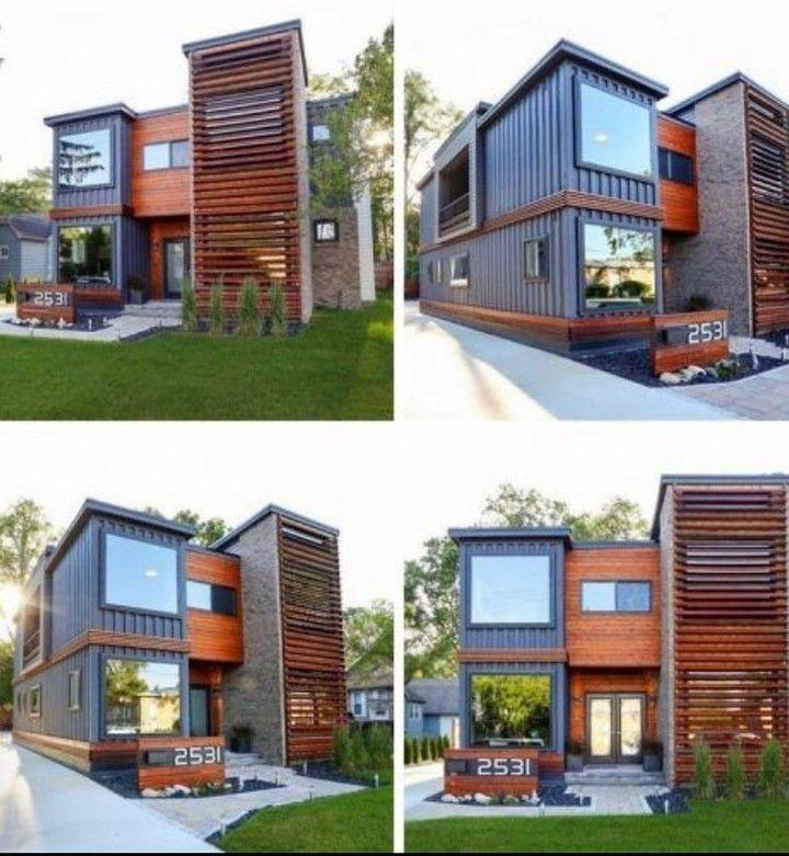 Container Home Design Ideas: #airbnb #waco #cargohome #containerhome #tinyhouse