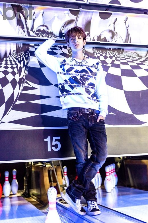 Min Woo - bnt International November 2014