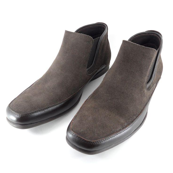 Sepatu semi-boots ini mempunyai desain yang modern, sangat cocok bagi Anda yang ingin tampil simple dan elegan di acara formal maupun semi-formal. Dilengkapi karet elastis yang berkualitas tinggi, sepatu ini mudah dipasang dan dilepas. Selain itu sepatu ini juga cocok dipakai di cuaca dingin karena bahan sepatu kulit asli melindungi kaki Anda dari dinginnya cuaca, dan outsole karet membuat sepatu ini ringan dan tidak licin.