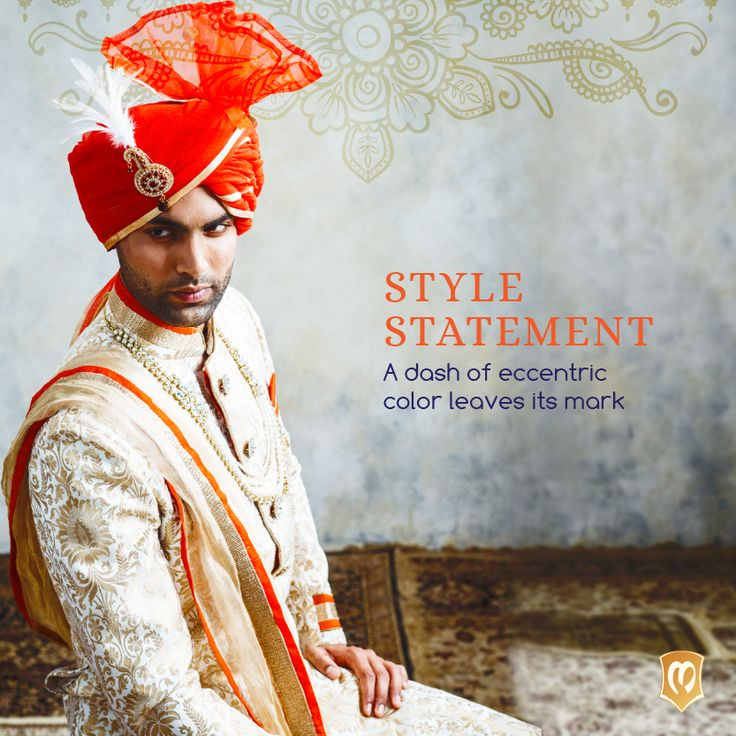 Stay tuned to trends on our social media channels. Search for Manyavar on your preferred platform and like or follow us. #CelebrationWear #StyleStatement Take a closer look at this attire -